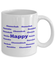 Load image into Gallery viewer, Happy Chanukah coffee mug cup for women or men