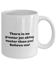 Load image into Gallery viewer, Greatest Jet skiing master coffee mug cup for women or men