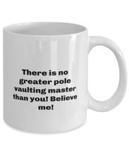Load image into Gallery viewer, Greatest Pole vaulting master coffee mug cup for women or men