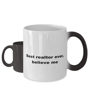 Load image into Gallery viewer, Best realtor ever, white coffee mug for women or men