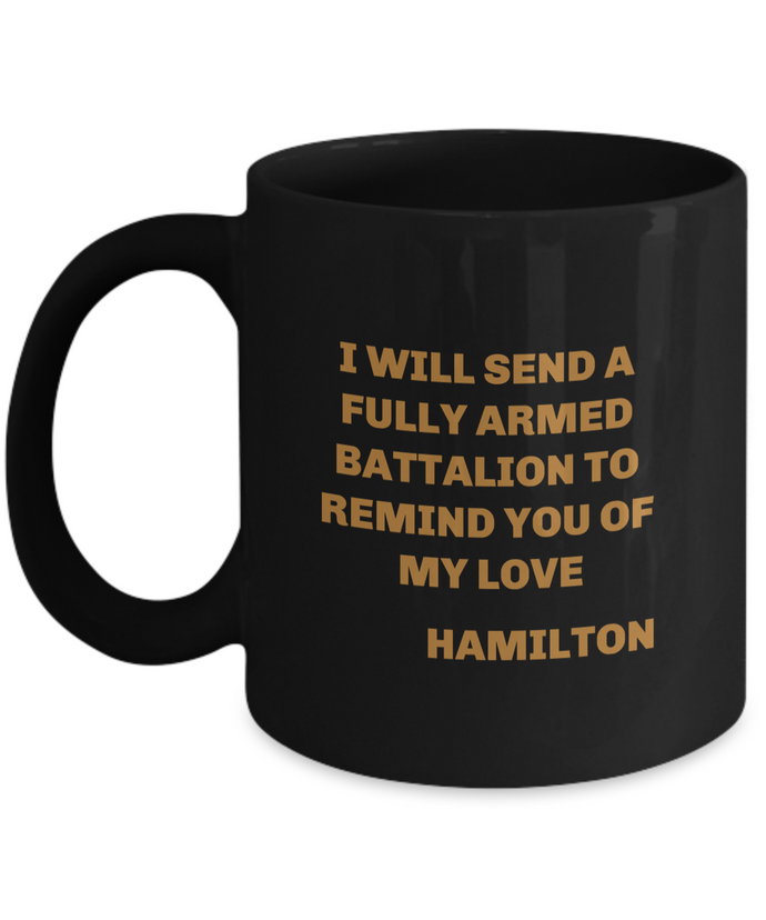 Hamilton play coffee mug Black