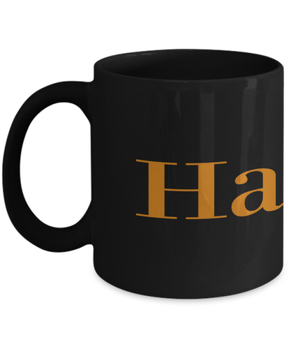 Hamilton play coffee mug Black Full Wrap 11oz or 15oz for Him or Her