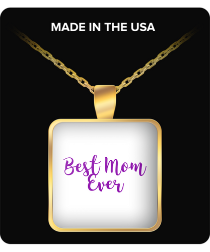 Best Mom Ever Necklace, good for every occasion.