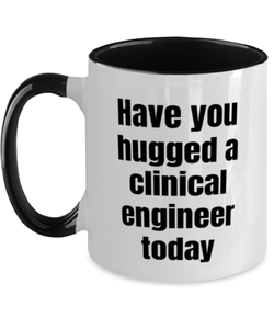 Clinical engineer funny two-tone coffee mug four colors 11oz for women and men