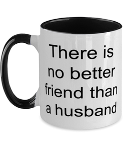 Husband funny two-tone coffee mug four colors 11oz for women and men
