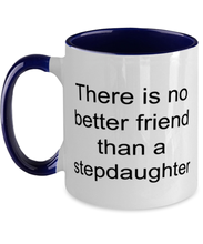 Load image into Gallery viewer, Stepdaughter funny two-tone coffee mug four colors 11oz for women and men