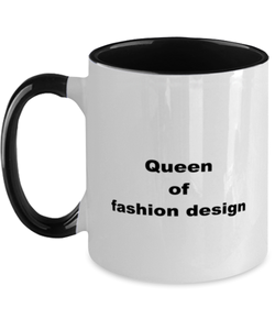 Fashion design two-tone coffee mug novelty cup for women and men
