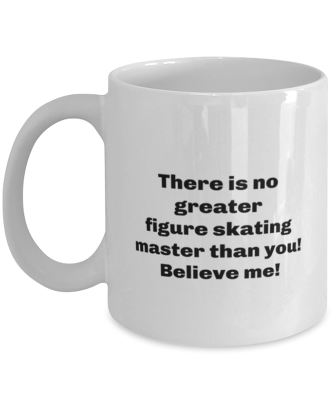 Greatest figure skating master coffee mug cup for women or men