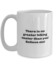 Load image into Gallery viewer, Greatest Hiking master coffee mug cup for women or men