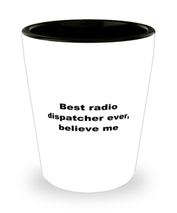 Best radio dispatcher ever, white coffee mug for women or men