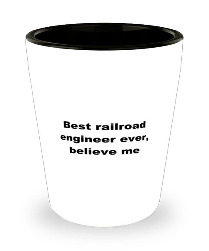 Best railroad engineer ever, white coffee mug for women or men