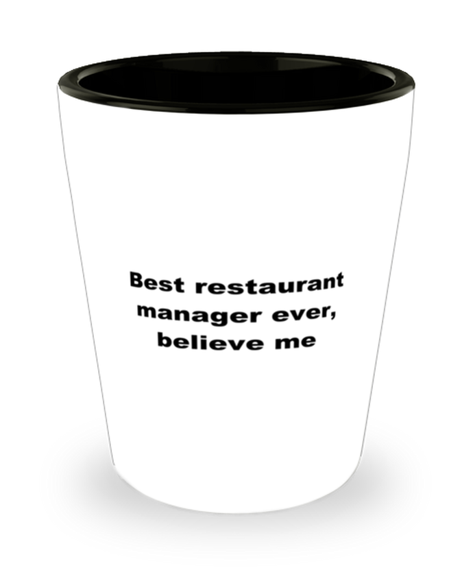 Best restaurant manager ever, white coffee mug for women or men