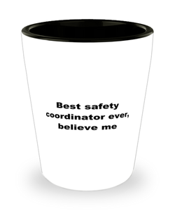 Best safety coordinator ever, white coffee mug for women or men