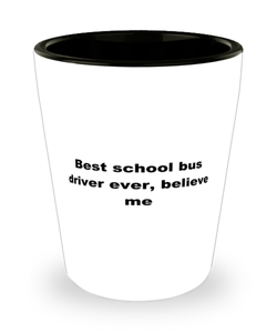 Best school bus driver ever, white coffee mug for women or men
