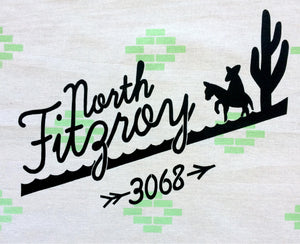 North Fitzroy Tea Towel