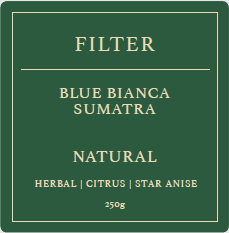 Sumatra Blue Bianca (FILTER)