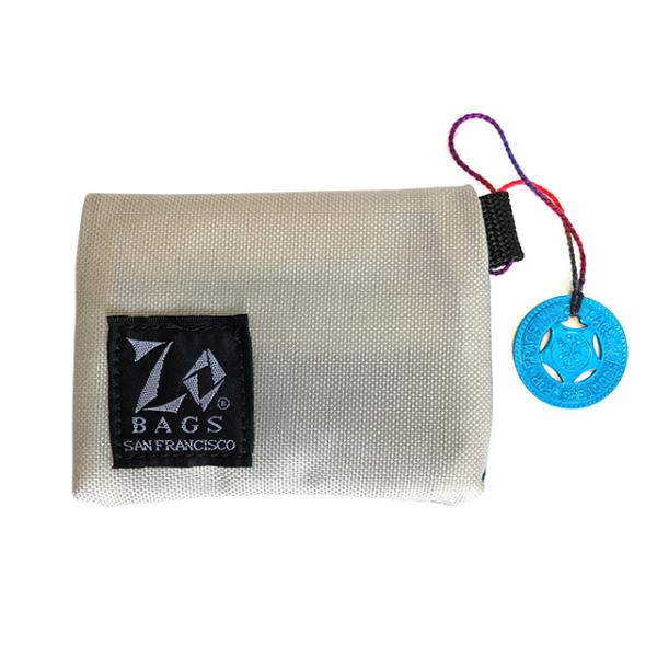 ZO BAGS × S.F.P. COIN PURSE / WHITE