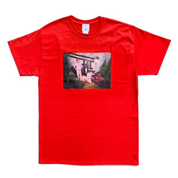 ALEXIS ROSS × S.F.P. T-SHIRT / RED