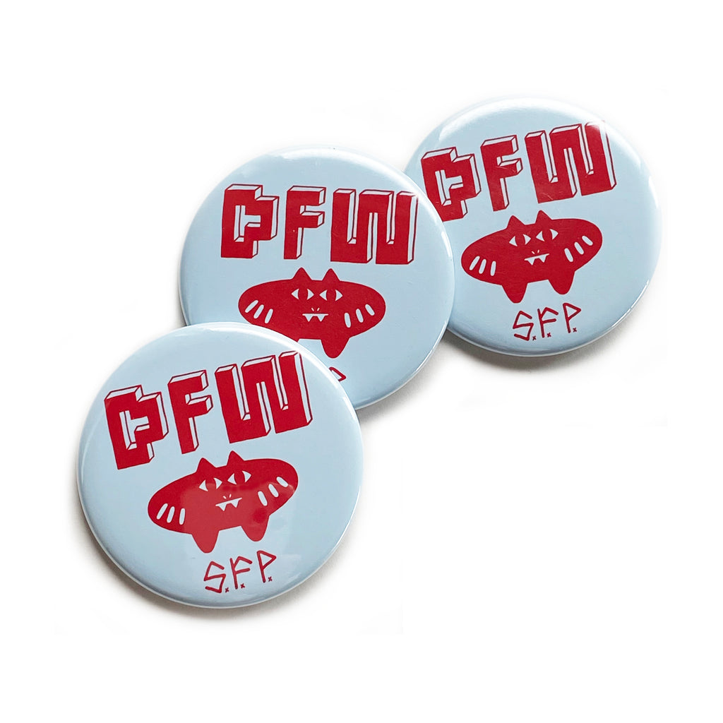 DFW × S.F.P. BUTTON