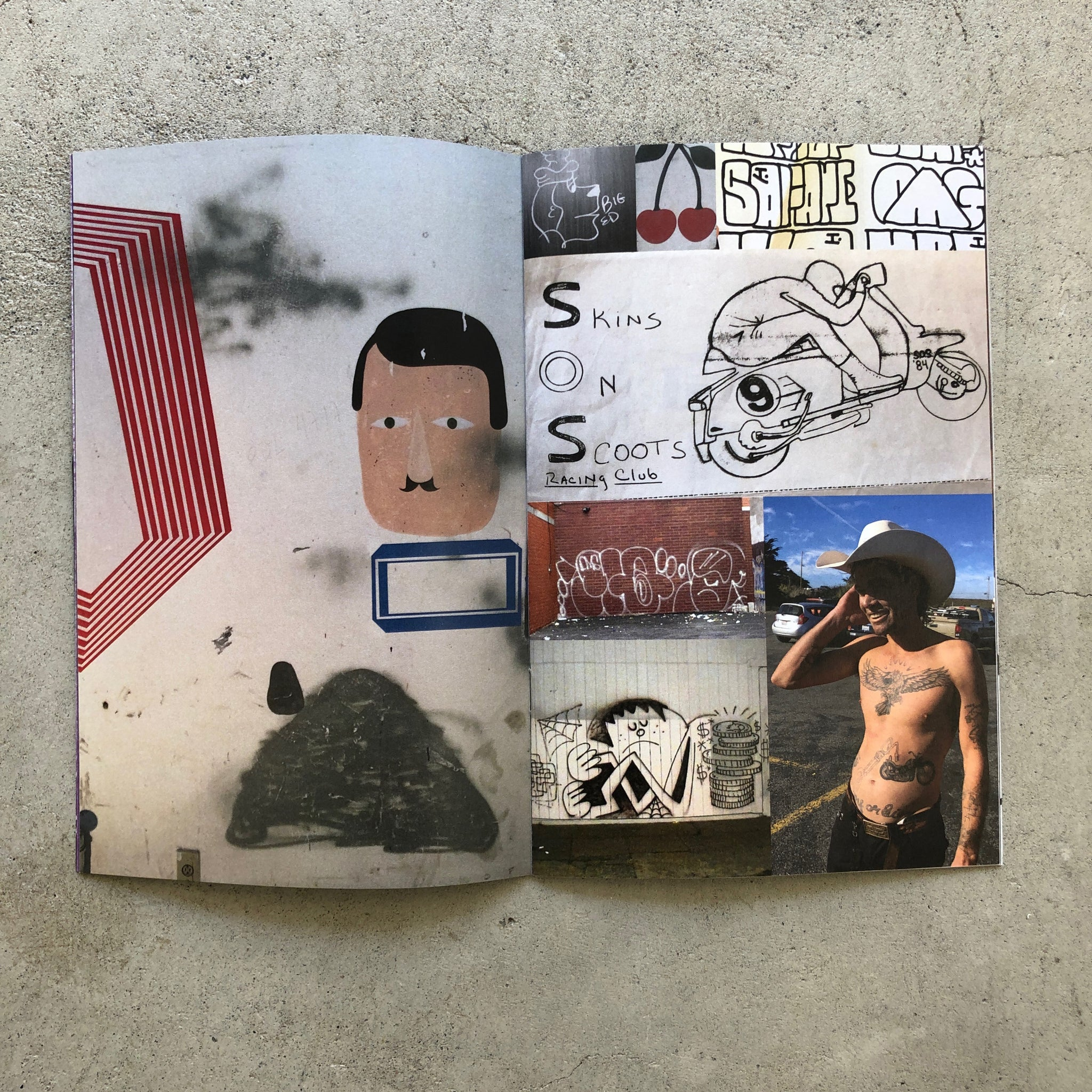 UNTITLED ZINE BY BARRY McGEE