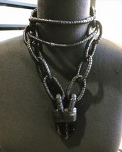 Load image into Gallery viewer, Smokey Quartz Tiered Choker Necklace