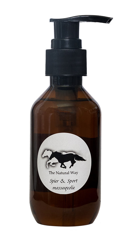 Spier & Sport massageolie The Natural Way 120 ml