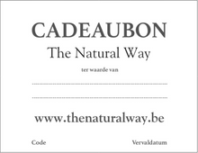 Afbeelding in Gallery-weergave laden, Cadeaubon The Natural Way