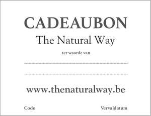 Cadeaubon The Natural Way