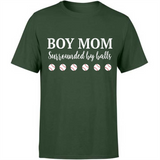 Baseball Lover Gifts Ideas Funny Quotes Boy Mom Surrounded By Balls Custom Graphic Design For Boy Mom Women