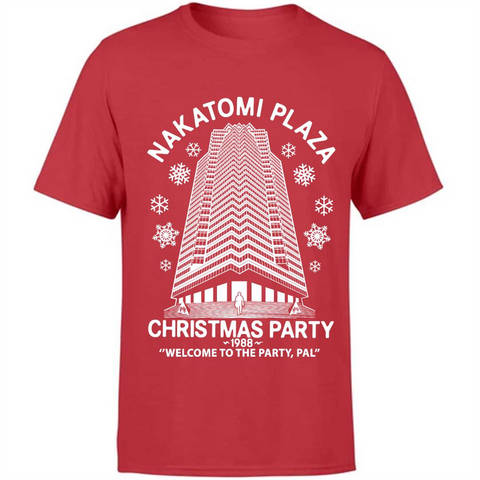 Die Hard Christmas Party Nakatomi Plaza 1988