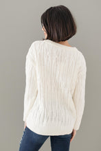 Load image into Gallery viewer, Annie Knit Top in Cream