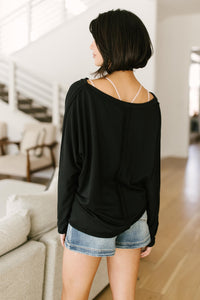 PREORDER: Center Stage Sweater in Black