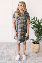 Load image into Gallery viewer, Comfy Camo Dress
