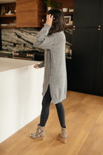 Load image into Gallery viewer, Diamond Details Sweater Dress in Grey