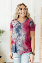 Load image into Gallery viewer, Forever in Love Tee in Grey and Maroon