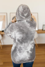Load image into Gallery viewer, Gray Skies Tie Dye Hoodie