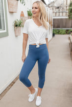 Load image into Gallery viewer, More Than Loungewear Leggings in Blue
