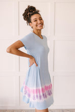 Load image into Gallery viewer, Parallel Lines Tie Dye Dress