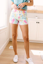 Load image into Gallery viewer, Pastel Tie Dye Cutoff Shorts