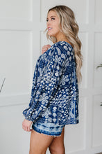 Load image into Gallery viewer, The Perfect Picnic Top in Navy