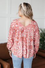 Load image into Gallery viewer, The Perfect Picnic Top in Red