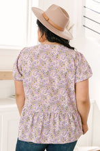 Load image into Gallery viewer, Turn On The Charm Peplum Blouse
