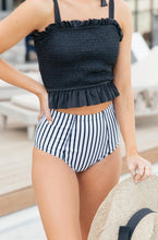 Load image into Gallery viewer, Where Stripes Meet Swim Bottoms