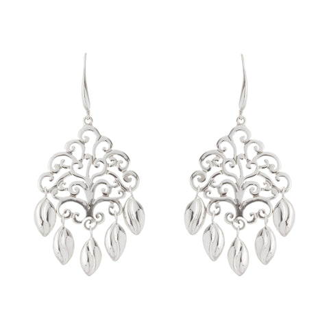 Tree of Life Multi Leaf Drop Earring