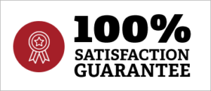100% Satisfaction Guarantee Call Out