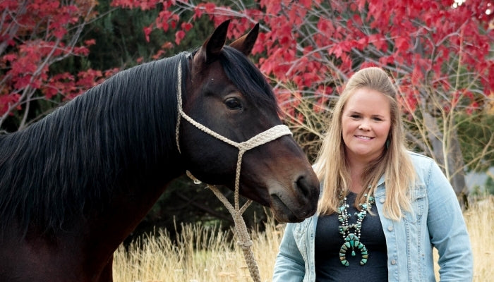Kelsey Johnson Nonella, Ph.D Horse Guard's very own Equine Nutritionist
