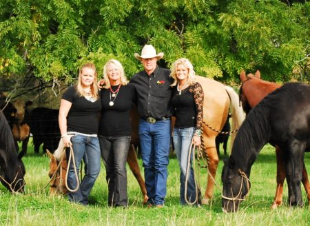 Horse Guard is proud to be a family owned company, The Johnsons: Kelsey, Lori, Del & Ty