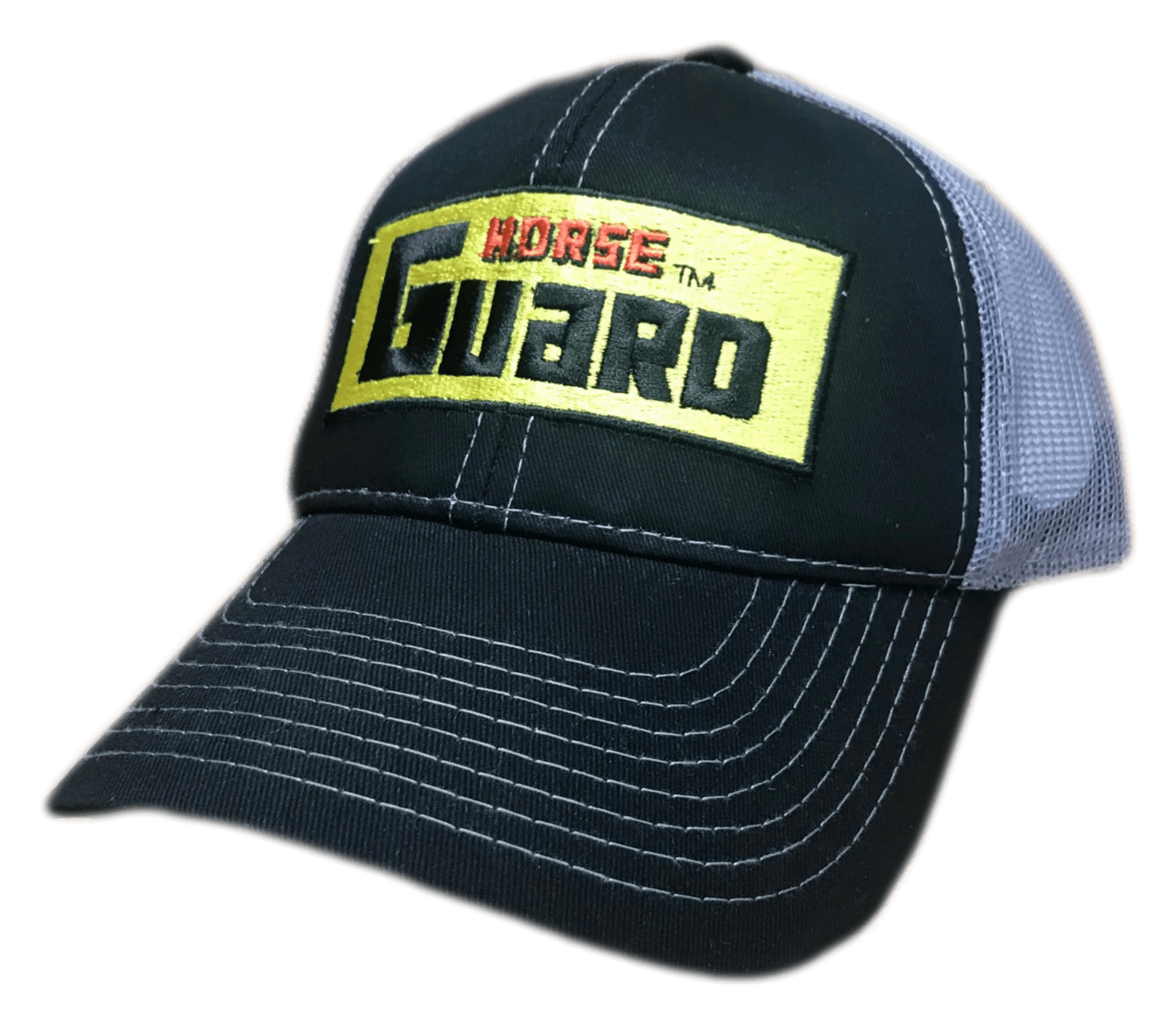 Black Grey Hat by Horse Guard