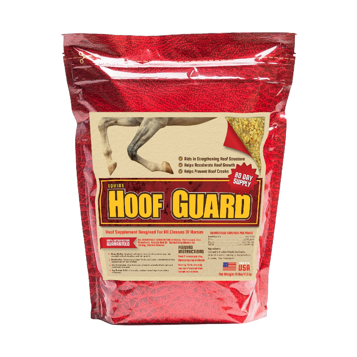 Equine Hoof Guard 10lb Front Supplement by Horse Guard