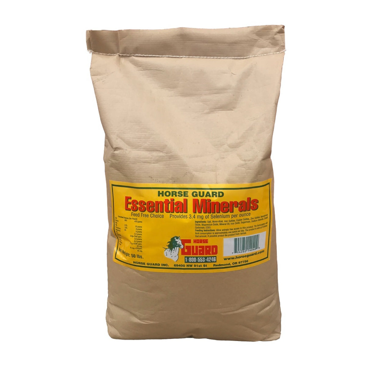 Essential Minerals 50lb Front Supplement by Horse Guard